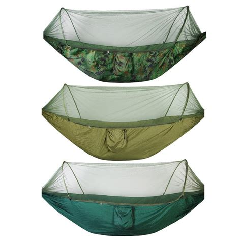 Travel Hammock With Mosquito Net by Single Portable Cing Travel Hammock Strength
