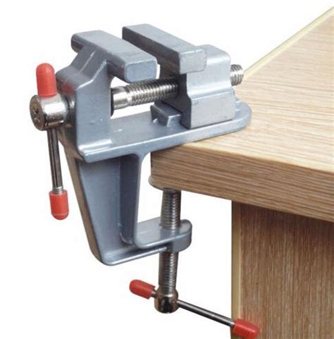 mini table bench vise small work crafts arts detailing