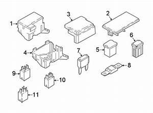 Lincoln Continental Fuse Box Cover  Upper  Top  Telematics