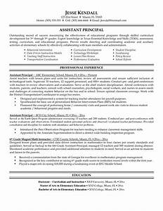 resume and vice principal assistant principal resume With leadership resume examples