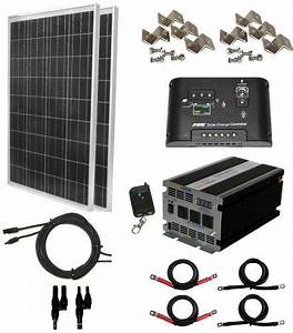 Amazon.com: Complete 200 Watt Solar Panel Kit with 1500W ...