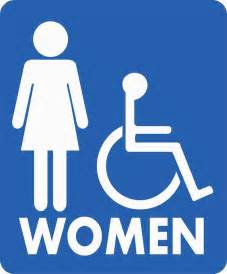Bathroom Signs To Download restroom signs ada braille signs ladies bathroom signs