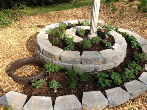 Herb Spiral In The Garden, Put On