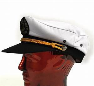 Captain39s 59cm Yachting Boating Peaked Cap Pink Cat Shop