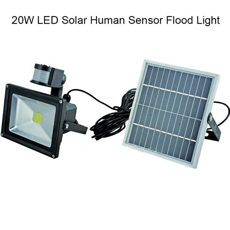 10w 20w 30w 50w solar panel led flood security solar