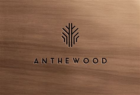 anthewood furniture company branding typography