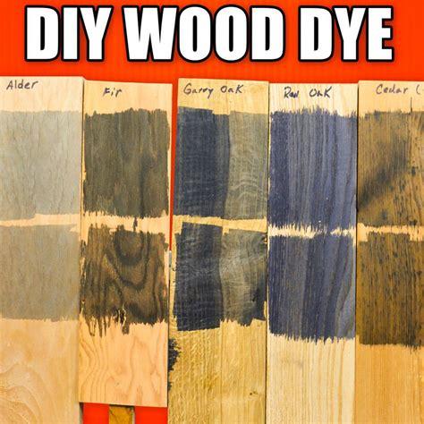 save money  diy wood dye dyeing wood technique