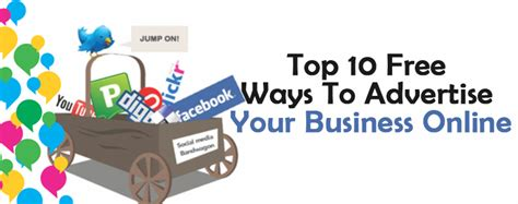 Top 10 Free Ways To Advertise Your Business Online