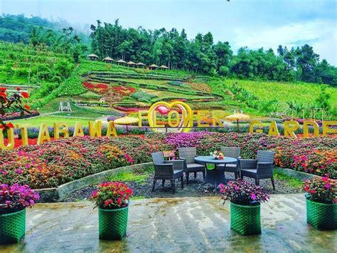 kebun bunga  jawa tengah destinasi wisata  sejuk