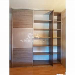 Porte Dressing Sur Mesure : dressing sur mesure gris graphite double porte meubles jamet ~ Premium-room.com Idées de Décoration