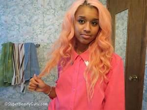 How to dye dark/black hair pastel pink | Offbeat Look