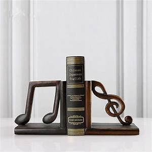 A, Pair, Creative, Synthetic, Resin, Bookend, Shelf, Bookend, Holder, Office, Supplies, Home, Decoration