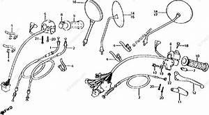 Mirror Wiring Diagram 955 671 Dorman : honda motorcycle 1981 oem parts diagram for cables ~ A.2002-acura-tl-radio.info Haus und Dekorationen