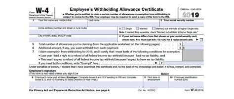 w 4 form irs how to fill it out definitive guide 2018 smartasset