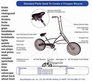 Choppper Bicycle Diagram