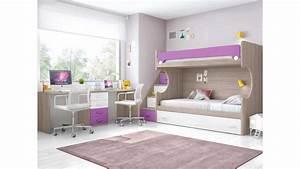 Lit superpose enfant avec bureau et lit gigogne glicerio for Luminaire chambre enfant avec matelas dunlopillo bz