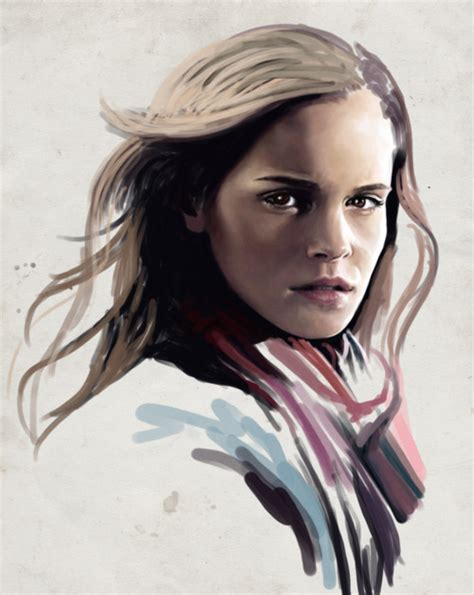 Harry Potter Emma Watson Digital Art Paintings Pics