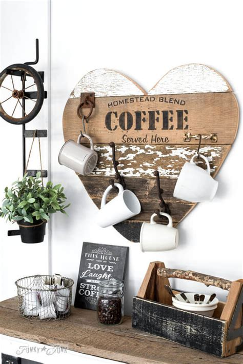 You will love this pallet coffee mug hanger and we have an easy video tutorial to show you how. 26 Best DIY Coffee Mug Holder Ideas and Projects for 2020