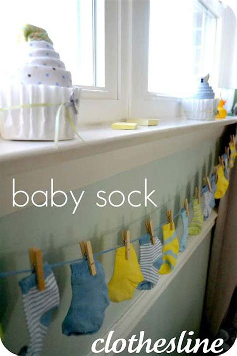 cute  cost diy decorating ideas  baby shower