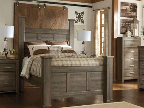 bedroom furniture sets near me b251 juararo 6 pc poster bedroom set