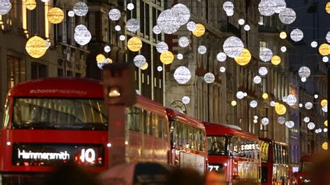 places  christmas shopping  london