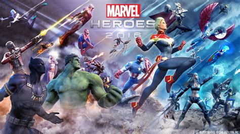 Wallpaper Marvel Heroes 2016, Avengers, Guardians of the
