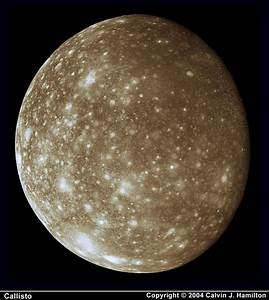 The Strange Wonders of Jupiter's Moon Callisto | BrownSpaceman