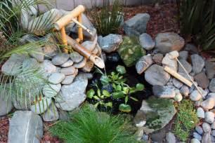 designer wasserspiele bamboo fountains garden