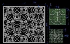 Contemporary Design Jaali Panel Plan n Design