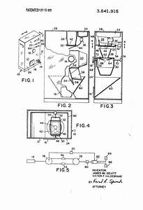 Patent Us3641916 - Fresh Popcorn Vending Machine