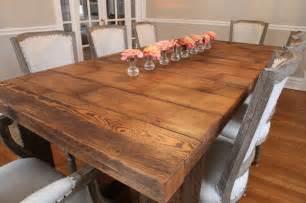 designer holztische barnwood table