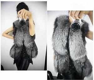 Manteau Fourrure Sans Manche : veste fausse fourrure topiwall ~ Dallasstarsshop.com Idées de Décoration