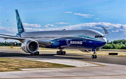 Boeing 777x Airport Airplane Wallpapers Flying Airliner