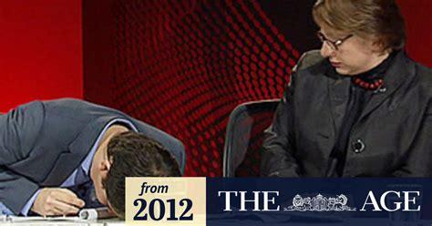 Mirabella 'in shock' when Q&A panellist fainted