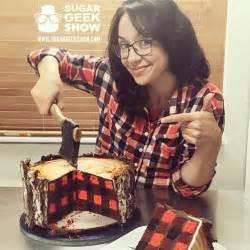 lumberjack cake with an edible axe by elizabeth marek fancy edibles
