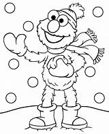 Coloring Winter Elmo Pages Printable Print Snow Topcoloringpages Sheet Freedom Funny Sesame Street Children Spokesperson Pdf Adults sketch template