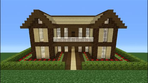 How To Build A Huge Wooden Mansion
