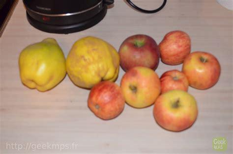 recette de la gel 233 e coing pomme