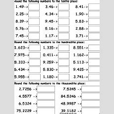 Rounding Numbers Enchantedlearningcom