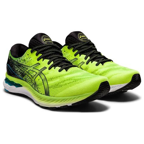 Asics Men's Gel- Nimbus 23 Running Shoes - Hazard Green/Black