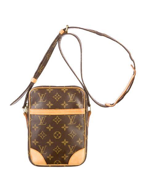 louis vuitton danube crossbody handbags lou  realreal