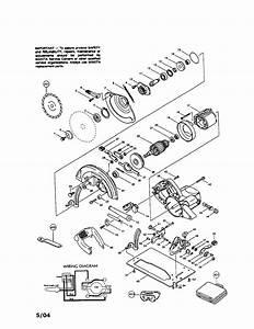 Circular saw diagram parts list for model 5007nh makita for Circular saw diagram