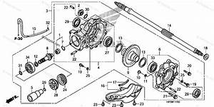 Honda Atv 2009 Oem Parts Diagram For Final Driven Gear