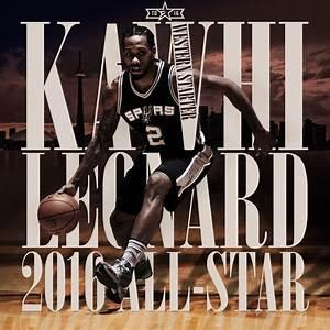 KAWHI LEONARD SELECTED AS STARTER FOR THE 2016 NBA ALL