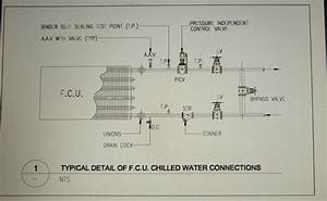Fcu Chilled Water Piping Connection Detail