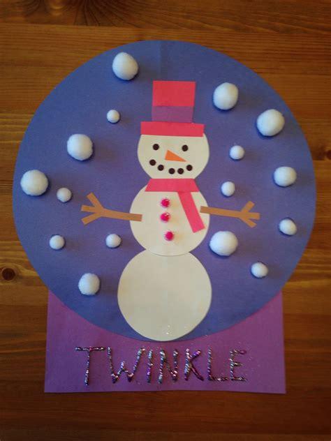 snowman snow globe craft snowgirl craft winter craft 497 | 98d10e589af27ed901128417b2e9ebd7