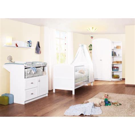univers chambre bébé chambre bébé 3 pièces blanc pinolino acheter sur