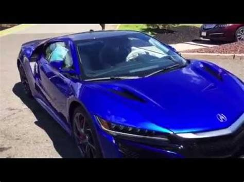 the 2017 acura nsx arrives at open road acura of east brunswick youtube