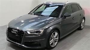 Audi A3 Grise : audi a3 sportback 2 0 tdi 150 fap s line s tronic 6 occasion lyon neuville sur sa ne rh ne ~ Melissatoandfro.com Idées de Décoration