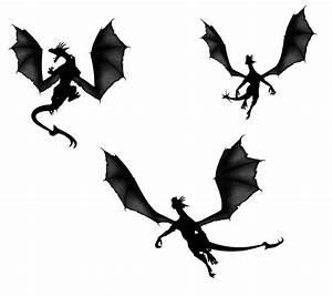 Flying Demon Silhouette | www.pixshark.com - Images ...